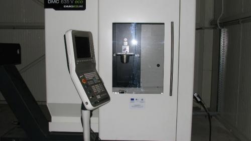 3-осен вертикален обработващ център с ЦПУ / DMC 635 V Ecoline